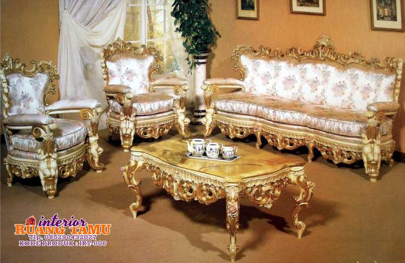 Jual Set Sofa Ruang Tamu Royal