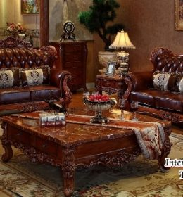 Set Kursi Sofa Royal Ruang Tamu